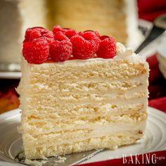 Milky Girl Cake - Let the Baking Begin! Let the Baking Begin!