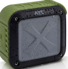 Outdoor Portable Wireless Bluetooth Speaker,Unine Waterproof Charger Bank Mini Speakers with Stereo Wireless Surround Sound,Travel Bass Speaker for Camping,Sports,Pool Party,Sports,Pool,Beach Black