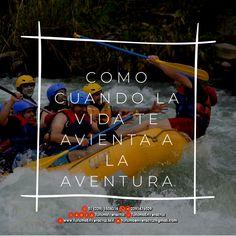 Como cuando la #vida te avienta a la #aventura   ☎️OFICINA 01[229] 1508316 📲 WHATSAPP 2291476029 📬 EMAIL turismoenveracruz@gmail.com  🌎http://www.filobobos.com/  #rafting #hospedaje #vacaciones #turismo #Veracruz #riofilobobos #filobobos