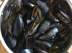 I love mussels and they are so easy to make.