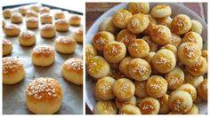 Vynikajúce rýchle pagáče bez kysnutia - ak máte doma 1 téglik kyslej smotany, neváhajte ich vyskúšať, sú vynikajúce a hneď hotové. Pretzel Bites, Bread, Baking, Cake, Food, Buns, Basket, Bread Making, Pie Cake