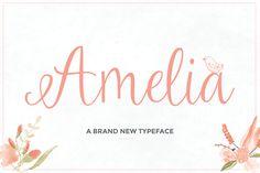 Amelia Script – SoFontsy