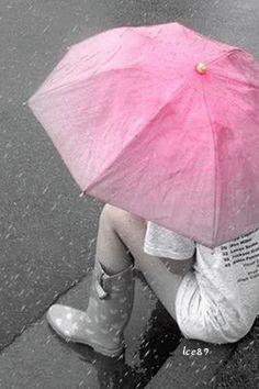 Alone in the rain....