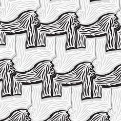 Gorilla Tessellation 1 of 3    Nikita Prokhorov // www.elusiveillusion.com