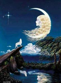 ** moon                                                       …