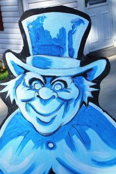 Hitchhiking ghosts from WDW made from foam - All About Garden