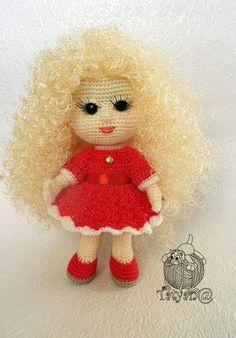 Валентинка. Мастер-класс. Crochet Dolls Free Patterns, Free Crochet, Crochet Food, Crochet Hats, Toy 2, Beautiful Crochet, New Toys, Master Class, Doll Clothes