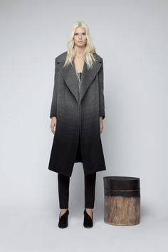 My favourite piece in the whole range is this coat. Limited edition, cashmere. Pure luxury!