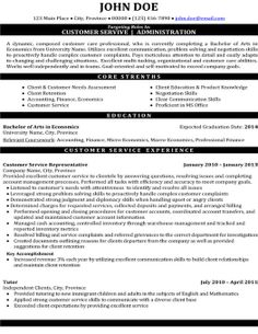 click here to download this customer service administration resume template http