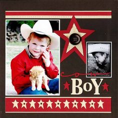 scrapbook layouts boy - AOL Image Search Results