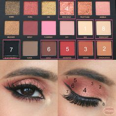 107 Best Huda Beauty Rose Gold Palette Images In 2018 Beauty