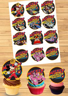 Mickey Decorations, Birthday Decorations, Mickey Birthday, Boy Birthday, Kids Birthday Party Invitations, Boy Decor, Party Printables, Cupcake Toppers, Free