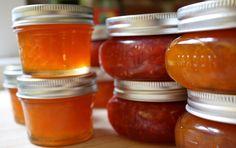 Best rhubarb recipes, rhubarb jam, rhubarb soup, rhubarb muffins, and more. Rhubarb trivia from The Old Farmer& Almanac. Best Rhubarb Recipes, Jam Recipes, Canning Recipes, Italian Recipes, Canning Tips, Chutney Recipes, Blueberry Rhubarb Jam, Rhubarb Muffins, Strawberry Jam