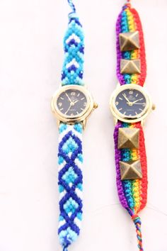 friendship bracelet watches