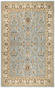 St. Croix Trading Traditions Waterford PT70 Sea Foam Rug - 8x11 - $599
