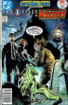 Super-Team Family: The Lost Issues!: The X-Files in The House of Mystery
