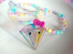 Hello Kitty Diamond necklace