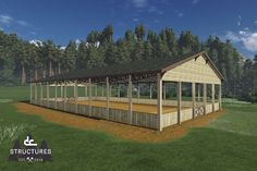 DC Structures - covered riding arena