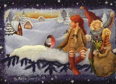 . Gnomes, Illustration, Painting, Art, Art Background, Painting Art, Kunst, Paintings, Illustrations