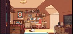 hilda animation aesthetic anime cartoon drawing reddit moment take rooms landscape fantasy relaxed witch character concept