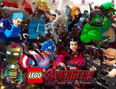 Lego Avengers Age Of Ultron (Comic-Con Trailer)