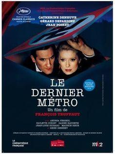 Le dernier metro con Catherine Deneuve, Gerard Depardieu