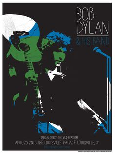 GigPosters.com - Wild Feathers, The - Bob Dylan