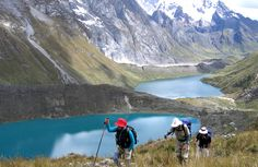 Cordillera Huayhuash, Peru (wanna go) Bolivia, Ecuador, Costa, Hiking Places, Andes Mountains, Pacific Ocean, Rafting, Outdoor Activities, Dream Big