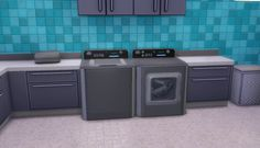 The Sims 4 | PlumbobCenter Ambitions Washer/Dryer 3t4 conversion buy mode new objects misc deco laundry
