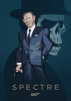SPECTRE - James Bond Caricature by ElOctopodo.deviantart.com on @DeviantArt