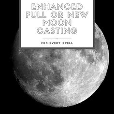 8 Powerful New Moon Spells [For Love, Money, Abundance & More] Next New Moon, Next Full Moon, Full Moon Spells, Full Moon Ritual, New Moon Cast, New Moon Meaning, The Paper Bag, Wiccan Magic, New Moon Rituals