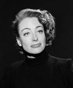 Warner Bros. publicity still of Joan Crawford, circa late 1940s.