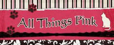 All Things Pink Diy Cat Toys, Different Shades Of Pink, Sugar And Spice, Everything Pink, My Favorite Color, Pretty In Pink, Pink Things, Pet Health, Banner