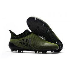 5266a055e8 Adidas X - Chuteiras De Campo Adidas X 17+ Purechaos Verdes Preto Chuteiras  De Campo
