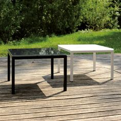 Tables Basses, Outdoor Furniture, Outdoor Decor, Architecture, Ottoman, Dining Table, Design, Home Decor, Gardens
