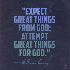Reflexiones: expect..good things .....!