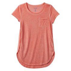 Girls 7-16 & Plus Size Mudd Graphic Print T-shirt
