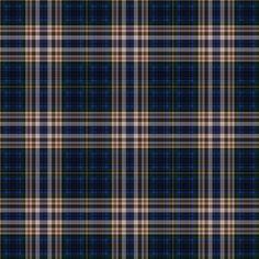 108 Free Plaid Seamless Patterns: SKS Plaid 22 - Dark Blue