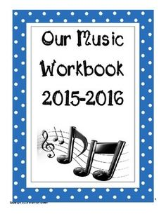 A GREAT 52 page music workbook that covers proper posture and music theory: notes/rests, dynamics, solfege, time signatures, key signatures, music signs/symbols, and treble clef letter names. There are also some word search pages at the end of the book for students who finish early!!