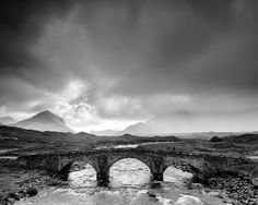 River Sligachan - Sligachan, Isle of Skye, United Kingdom by Bart Heirweg