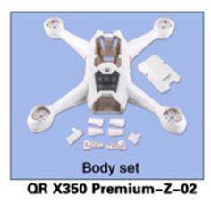 Walkera  QR X350 Premium-Z-02 Body Set for Walkera QR X350 Premium Helicopter F14428 #Affiliate
