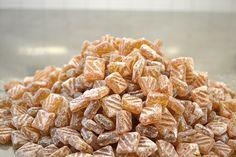 Bonbons biologiques à l'huile essentielle de bergamote