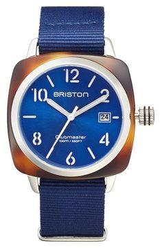 Briston NATO Strap Watch, 40mm x 40mm