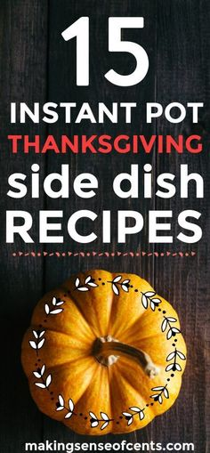 13 Instantpot Thanksgiving Side Dishes My 10 Budget Recipes roundup proved to be popular, so I'm back at it again with 13 Instantpot Thanksgiving Side Dishes. Thanksgiving isn't too far away, which means that you may be looking for some Instapot Twice Baked Potatoes Casserole, Creamy Mashed Potatoes, Thanksgiving Side Dishes, Thanksgiving Recipes, Thanksgiving Celebration, Holiday Recipes, Ham And Green Beans, Easy Weekly Meals, Pumpkin Risotto