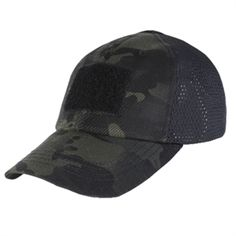 Tactical Cap - Mesh Back - Patch (Black Multicam)