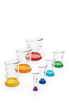 Oxo Good Grips 7-Piece Liquid Measuring Beakers Set