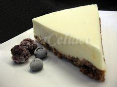 Cheesecake de Mascarpone para celíacos. Ver la receta http://www.mis-recetas.org/recetas/show/11133-cheesecake-de-mascarpone-para-celiacos