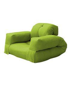 take a look at this lime hippo futon by fresh futon on  zulily today  fresh futon figo convertible futon chair bed white frame lime