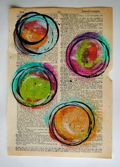 Mary Brack--Me, With My Head in the Clouds: Painted Circles Tutorial