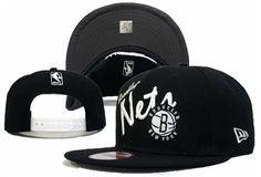 bf89dc01f27 NBA New Era x Brooklyn Nets Snapback Hats White Black 045 8823